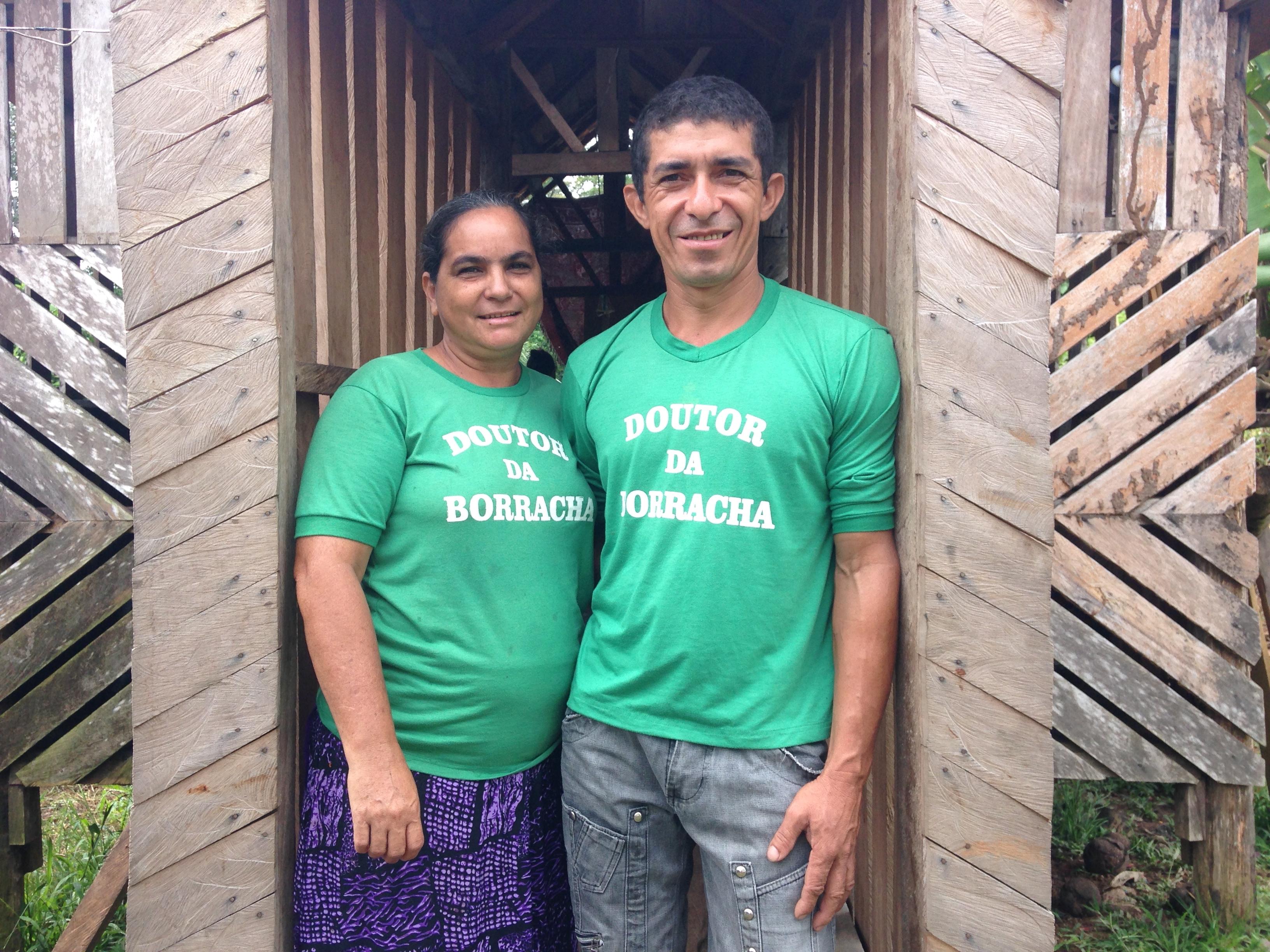 (Lene e José. Foto: AMZ.)